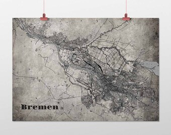 Bremen - A4 / A3 - print - OldSchool