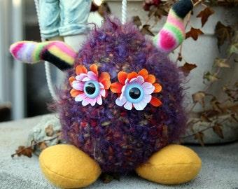 Crochet Plush Creature, Plush Monster Creature Plush Toy