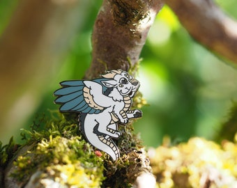 Air Dragon Hard Enamel Pin