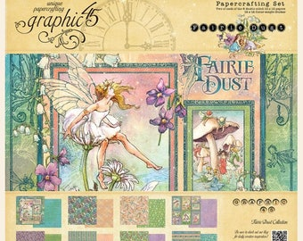 NEW!!! Graphic 45 Fairie Dust 12x12 Collection Pack, SC007754