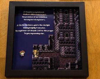 Final Fantasy VI - SNES Shadowbox - Celes at the Opera House