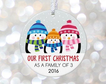 Adoption Gift Personalized Baby Ornament New Parents Ornament Baby Shower Gift New Mom Present Pregnancy Gift Parents To Be Gift