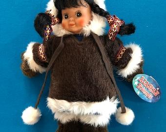 Alaskan Friends 12 inch Eskimo Doll by Arctic Circle