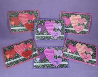Shades of Love - assorted Valentine's Day cards