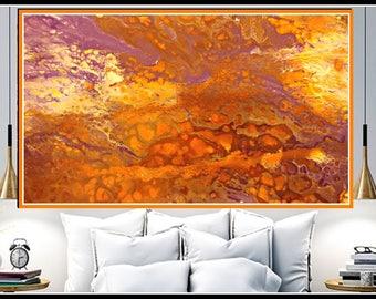 Living room giclee print original art abstract print wall art Abstract Painting modern acrylic fine art abstract office modern artwork print