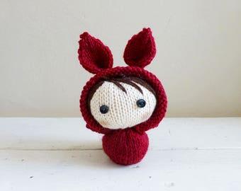 Mini Bunny Baby Joy, Cute Stuffed Animal, Baby Doll, Bunny Stuffed Animal