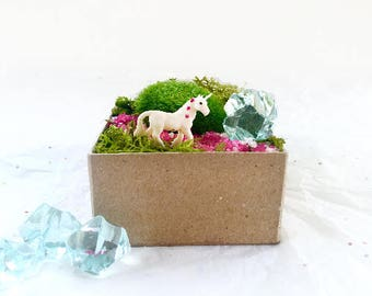 Mini Unicorn Habitat Kit