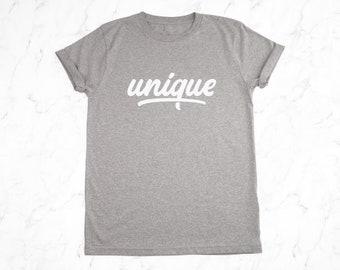 Unique Womens T-Shirt - Organic Cotton T-Shirt - Ladies T-Shirt