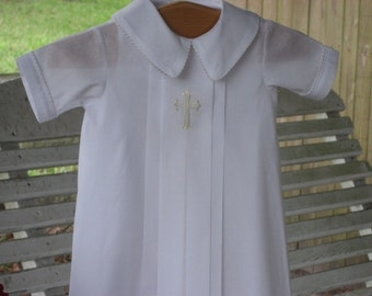 Swiss Batiste Christening Gown for Boy or Girl
