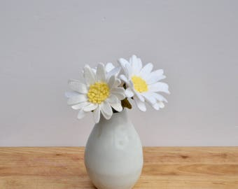 Daisy (3) / Felt Flowers / Felt Flower Stem / BUY the Stem