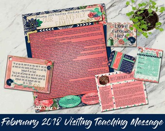February 2018 Visiting Teaching Message: Our Heavenly Family
