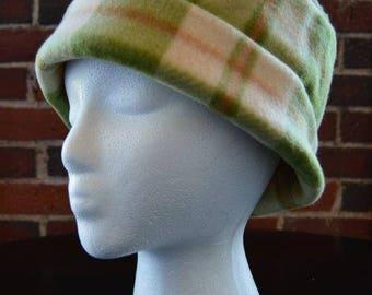 plaid winter hat