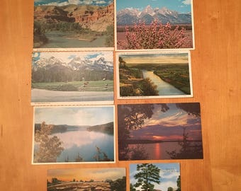 Huge Lot Of Vintage Postcards