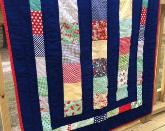 Chance of Rain Baby / Toddler Quilt