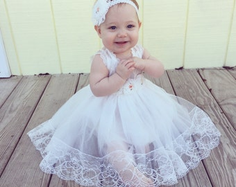 Baptism Dress,Christening Dress,Baptism Lace Dress,Baptism Gown,Christening Gown,Communion Dress,Blessing Dress,Girls Lace Dress,Baby Dress