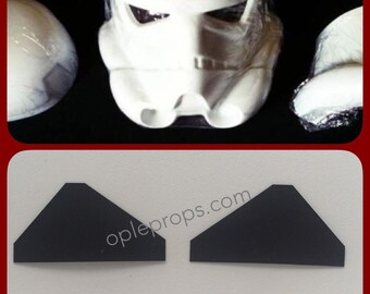 Stormtrooper Helmet Lenses ANH Helmetlenses Starwars Lense Star Wars Helmet Cosplay Costume