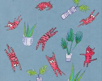 tiger cats   illustration design