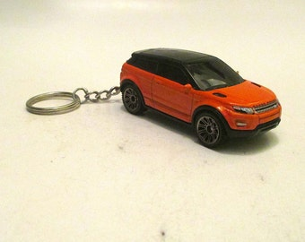 Range Rover Evoque keychain, Die Cast keychain Landrover, 4WD Off road 2 door, Mens or Womens keychain, Mens or Womens gift