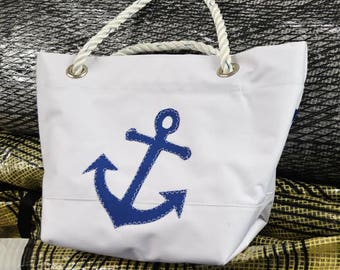 Anchor Sail Handbag from Harbor Bags