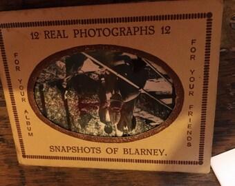 Album of 12 photos of Blarney