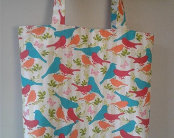 Everyday Tote Bag - Birds Large