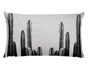 Cactus Nights Throw Pillow