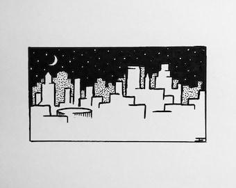 NYC Skyline (signed prints)