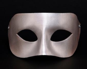 Silver Venetian mask, silver Venice mask, Columbian Silver Masquerade, Silver Columbine Masquerade, Silver Masque, silver Mummery, mask