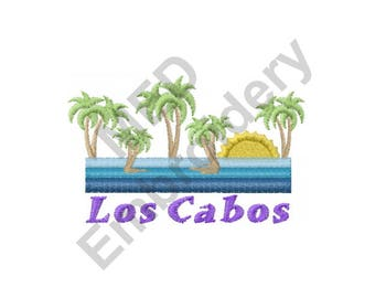 Los Cabos - Machine Embroidery Design