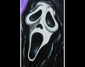 "11x14"" LIMITED EDITION Horror Icon Collection: Ghost Face from SCREAM"