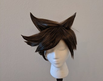 Custom Tracer Overwatch Cosplay Wig