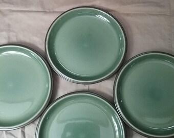 Nitto Genuine Stoneware Japan Cosmos plates
