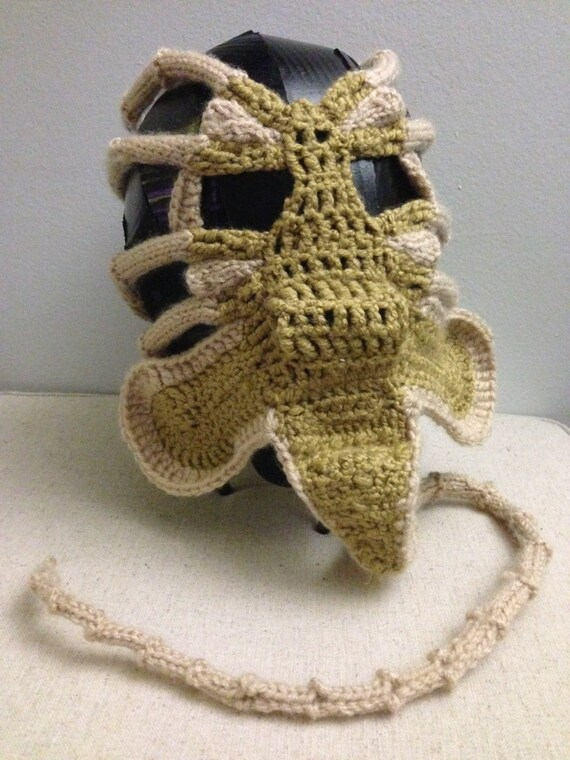 Xenomorph Alien Facehugger Face Warmer Pdf Pattern From