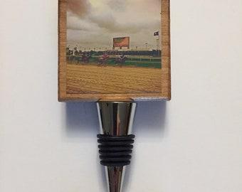 Kentucky Derby Race Bottle Stopper