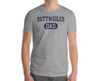 Rottweiler DAD Shirt, Dog Dad Shirt, Dog Lover Shirt, Rottweiler Gift