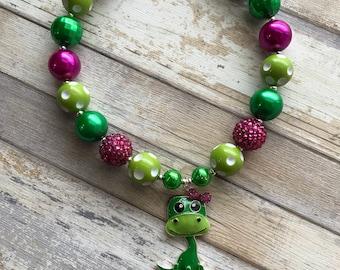 Dinosaur Bubblegum Necklace