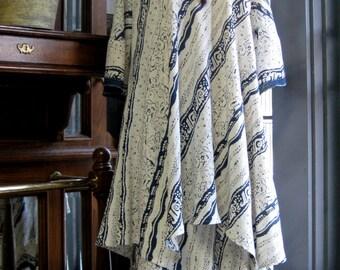 ON SALE/ Jaipur Asymmetrical Tunic and Skirt Set