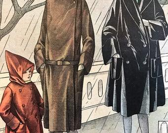 1920's French Magazine FASHION  Le Petit Echo de la Mode December 5 1926