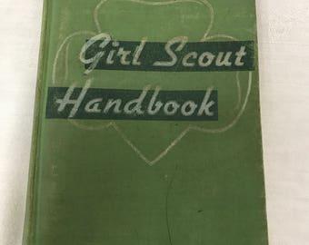 Girl Scout Handbook, Hardback, Copyright 1947