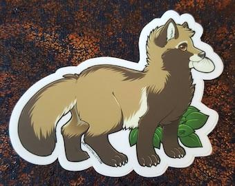 Tanuki Sticker