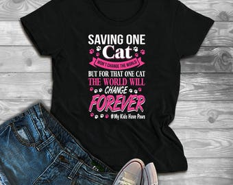 Cat Lover Gift, Cat shirt, Cat rescue, Cat Tshirt, Kitten Tshirt, Funny Cat Shirt, Meow Shirt, Cat T Shirt