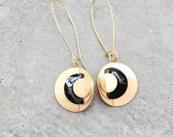 CROP CIRCLE earrings