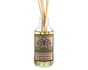 Gardenia reed diffuser gardenia diffuser gardenia diffuser oil gardenia scented diffuser  home fragrance gardenia fragrance hawaiian scented