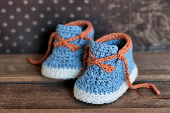 Boys Crochet Bootie PATTERN boots for baby boys booties