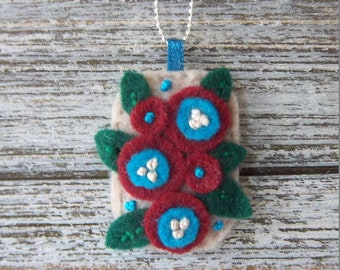Mini Felt Pocket Pendant