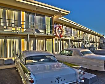 Lorraine Motel Memphis, TN 8x10 photo (matted)