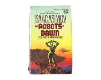 Vintage The Robots of Dawn Isaac Asimov Book