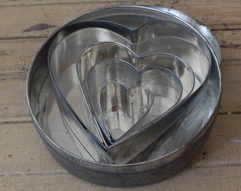 Vintage Toastmaster Heart Shaped Cookie Cutter Gift Set!