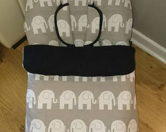 Reversible pushchair footmuff, cosytoes, detatchable liner, footmuff, bugaboo footmuff,icandy cosytoes, universal, pram quilt, toddler cover