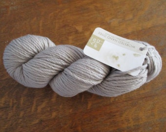 Blue Sky Alpacas Worsted Hand Dyes Putty color 2015